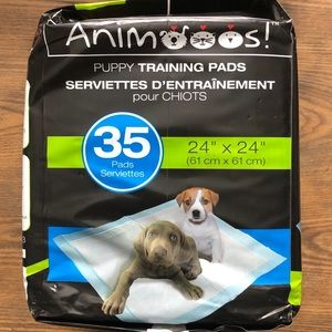 Animooos puppy training pads, 36 pack NEW